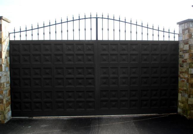 Carpinter a met lica - Puertas para fincas ...